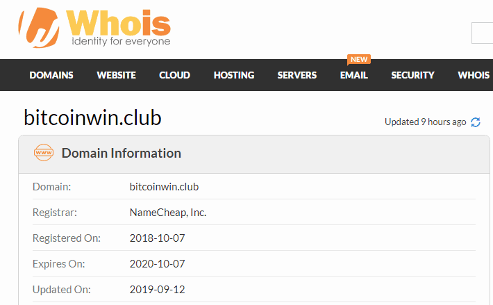 Bitcoinwin Club