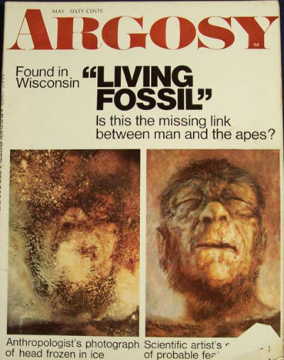 In 1968 He Came Across The Body Of A Man Like Creature Fozen Block Ice On Public Display Minnesota Iceman Was One Attractions Touring