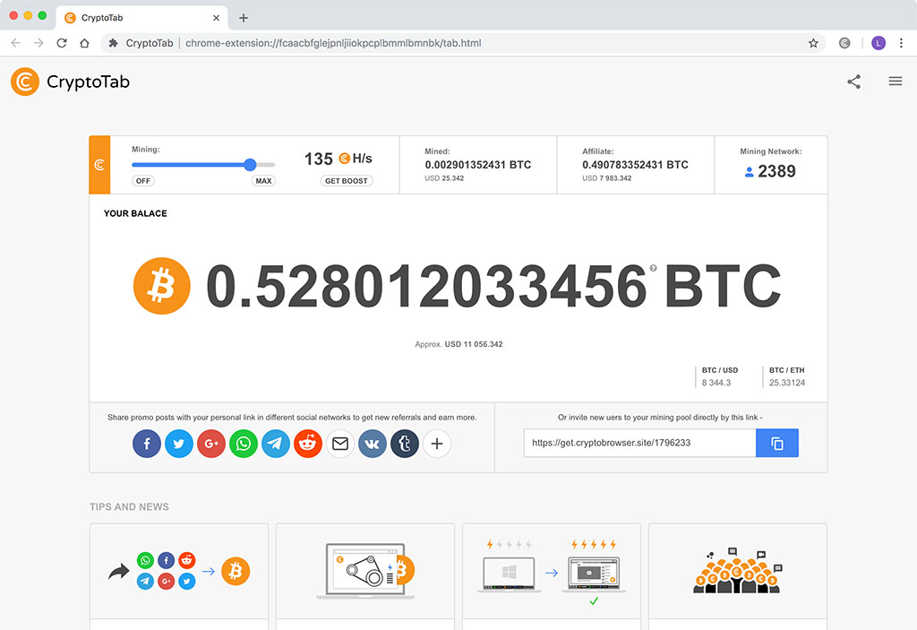 cryptotab browser review