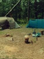 """Camp """"Sasquatch Expédition"""" (Photo Eric JOYE)"""