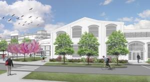 Le dessin ci-dessus représente le modèle architectural du nouveau musée.