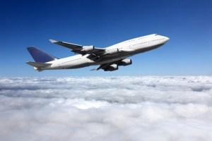 avion qui vole
