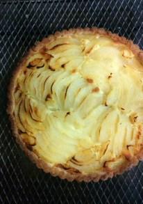 Pear Tart with Almond Frangipane
