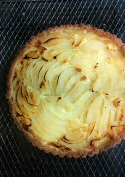 Pear Tart with Almond Frangipane