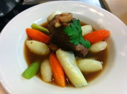 Short Rib Pot au Feu with Horseradish Sauce