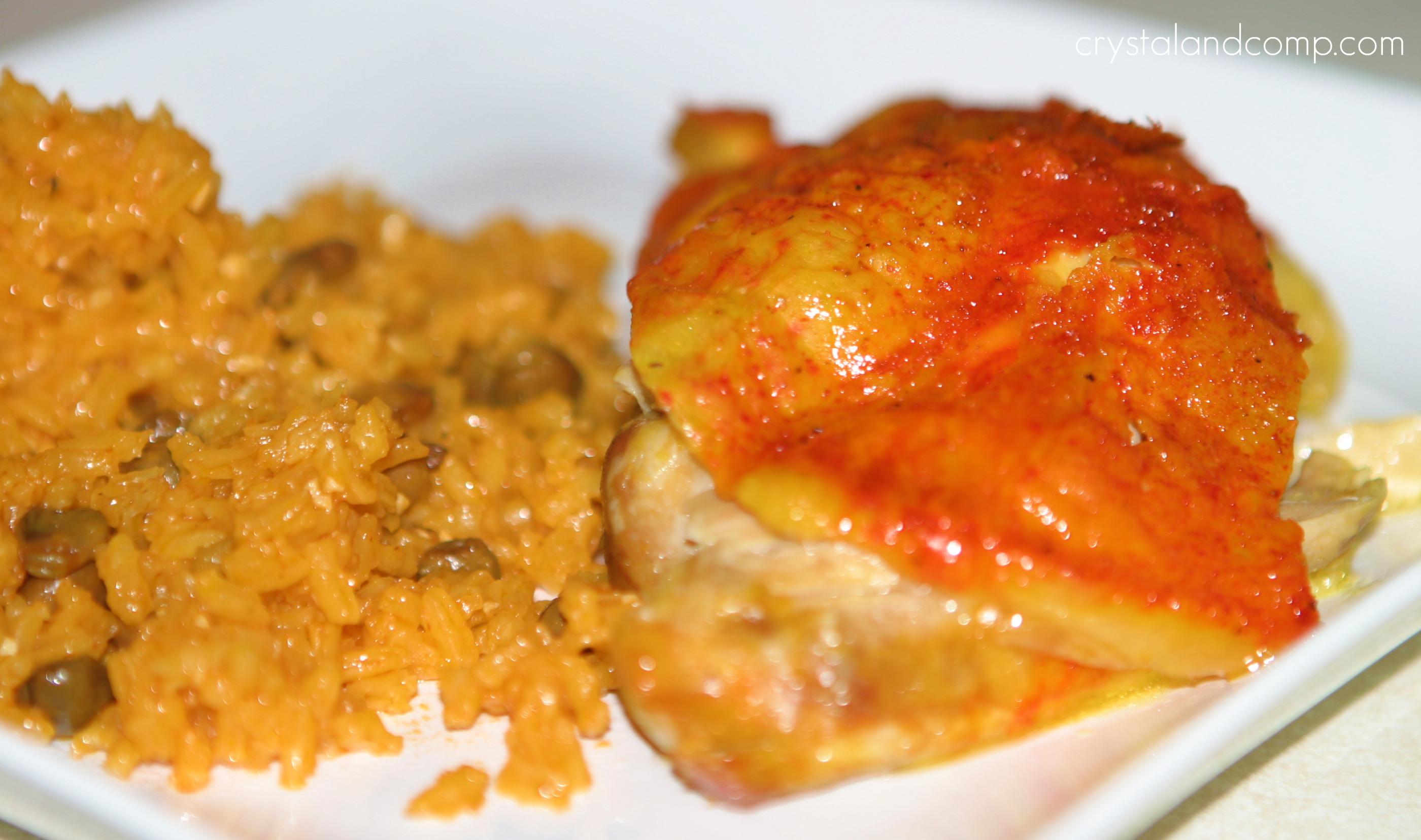 Puerto Rican Baked Chicken Recipes