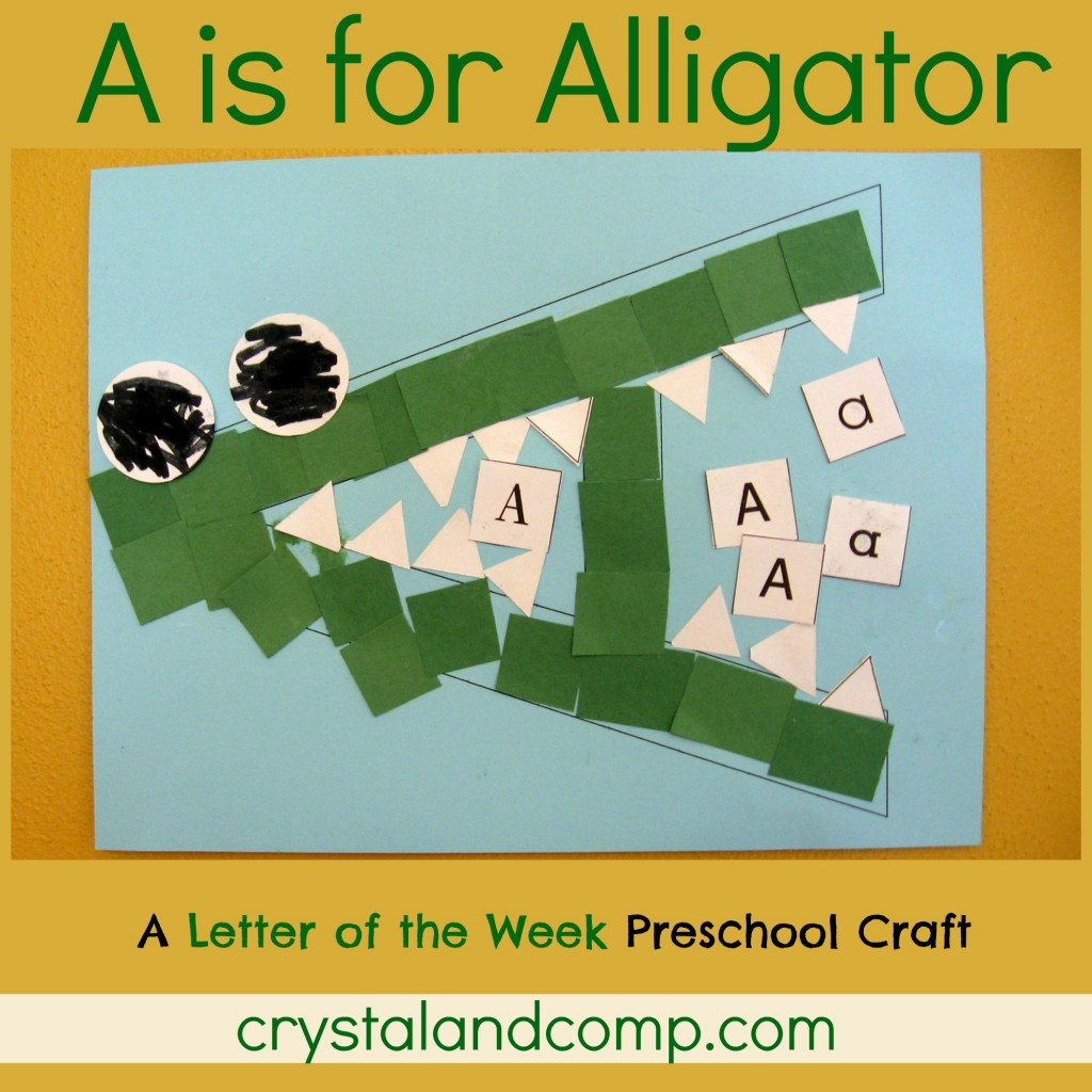 Alligator Themed Printables And Crafts