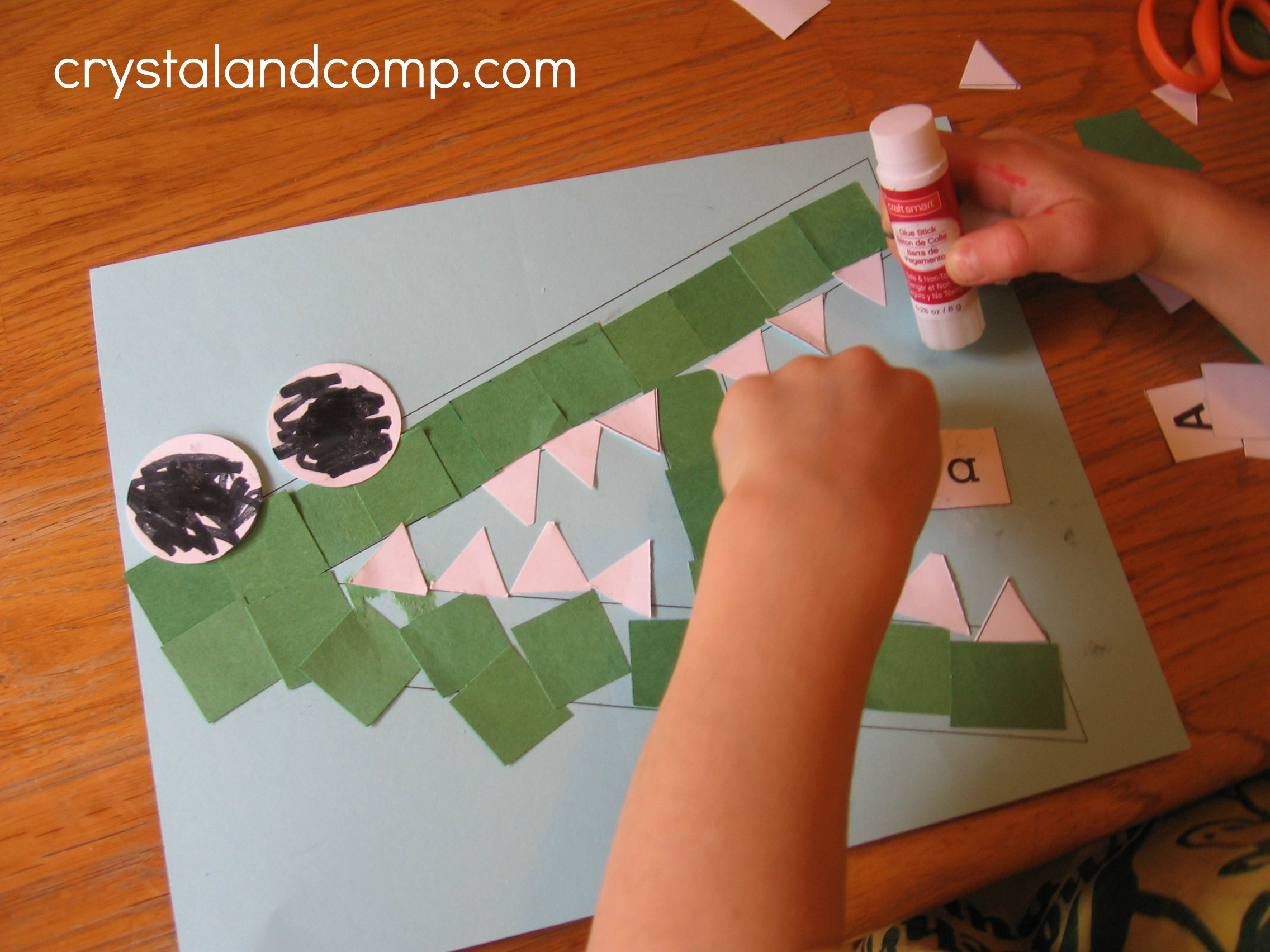 A Is For Alligator Letter Of The Week