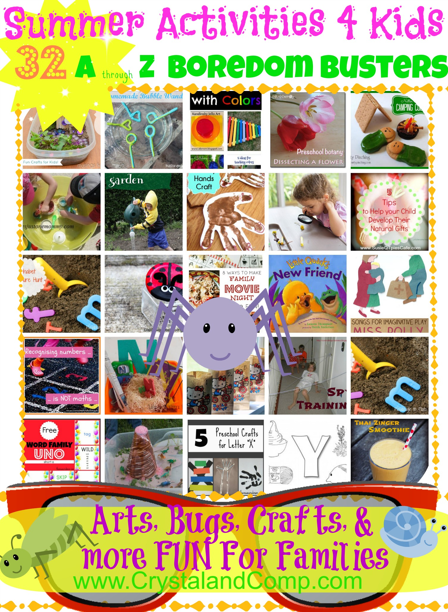 Summer Activities For Kids Boredom Busters