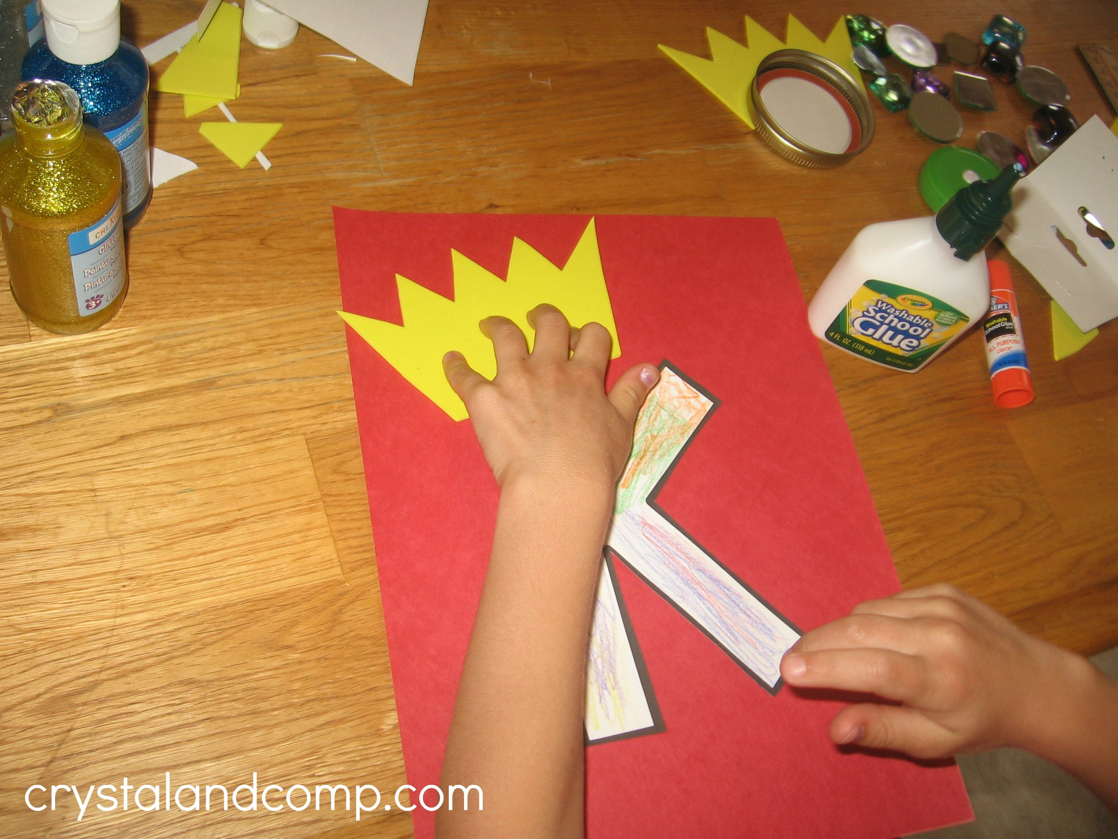 Alphabet Activities For Preschoolers K Is For King