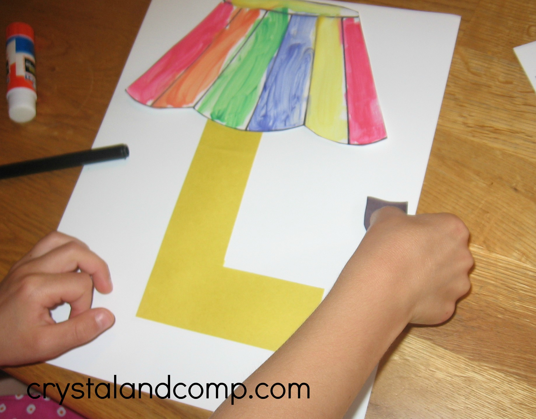 L Is For Lamp A Letter Of The Week Preschool Craft