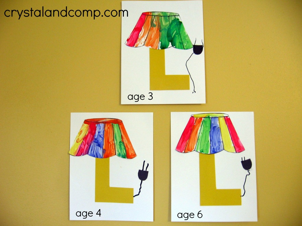 Alphabet Activities For Preschoolers L Is For Lamp