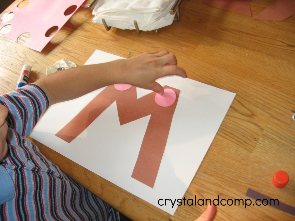 M Is For Mouse A Letter Of The Week Preschool Craft