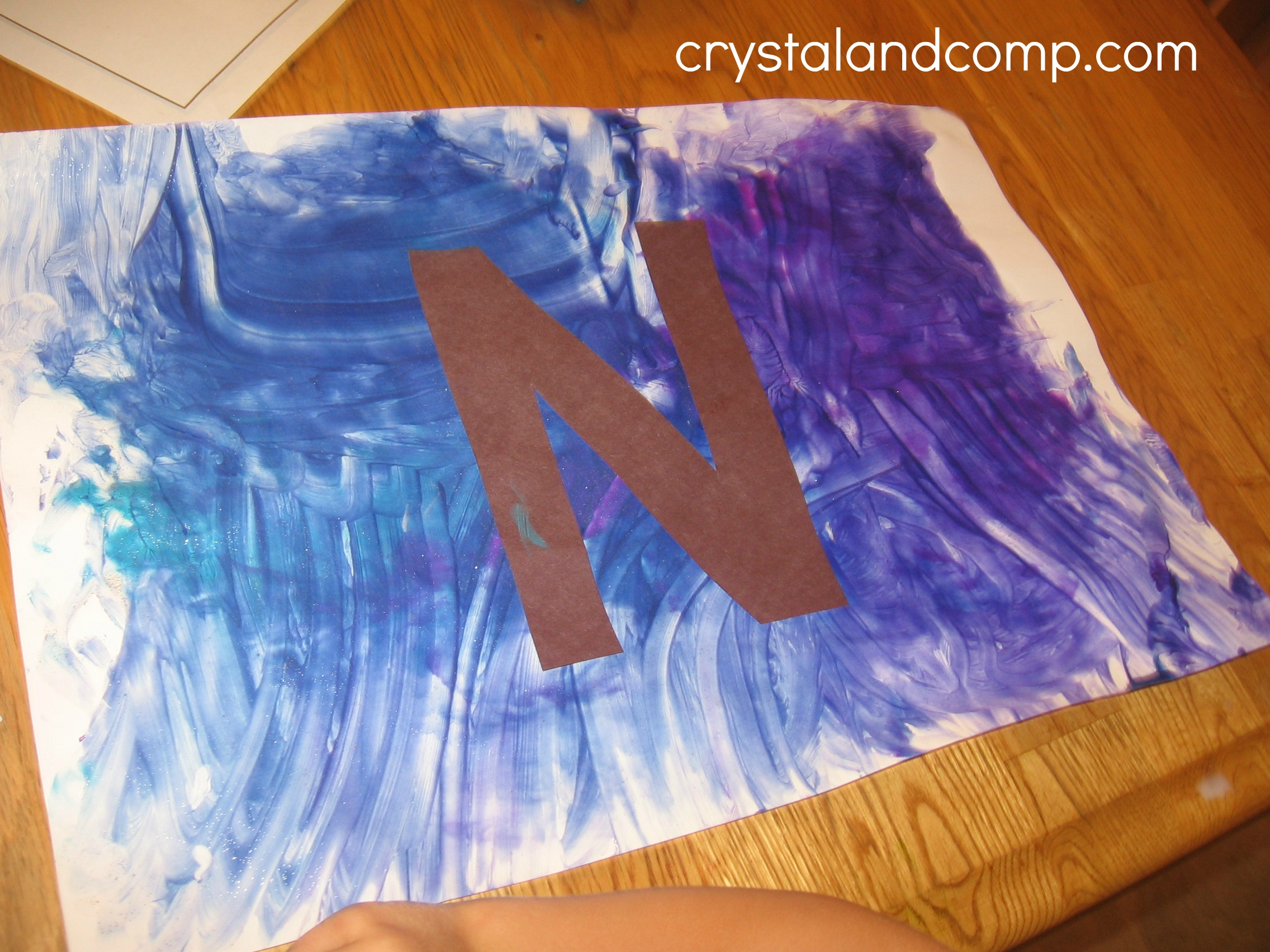 N Is For Night A Letter Of The Week Preschool Craft