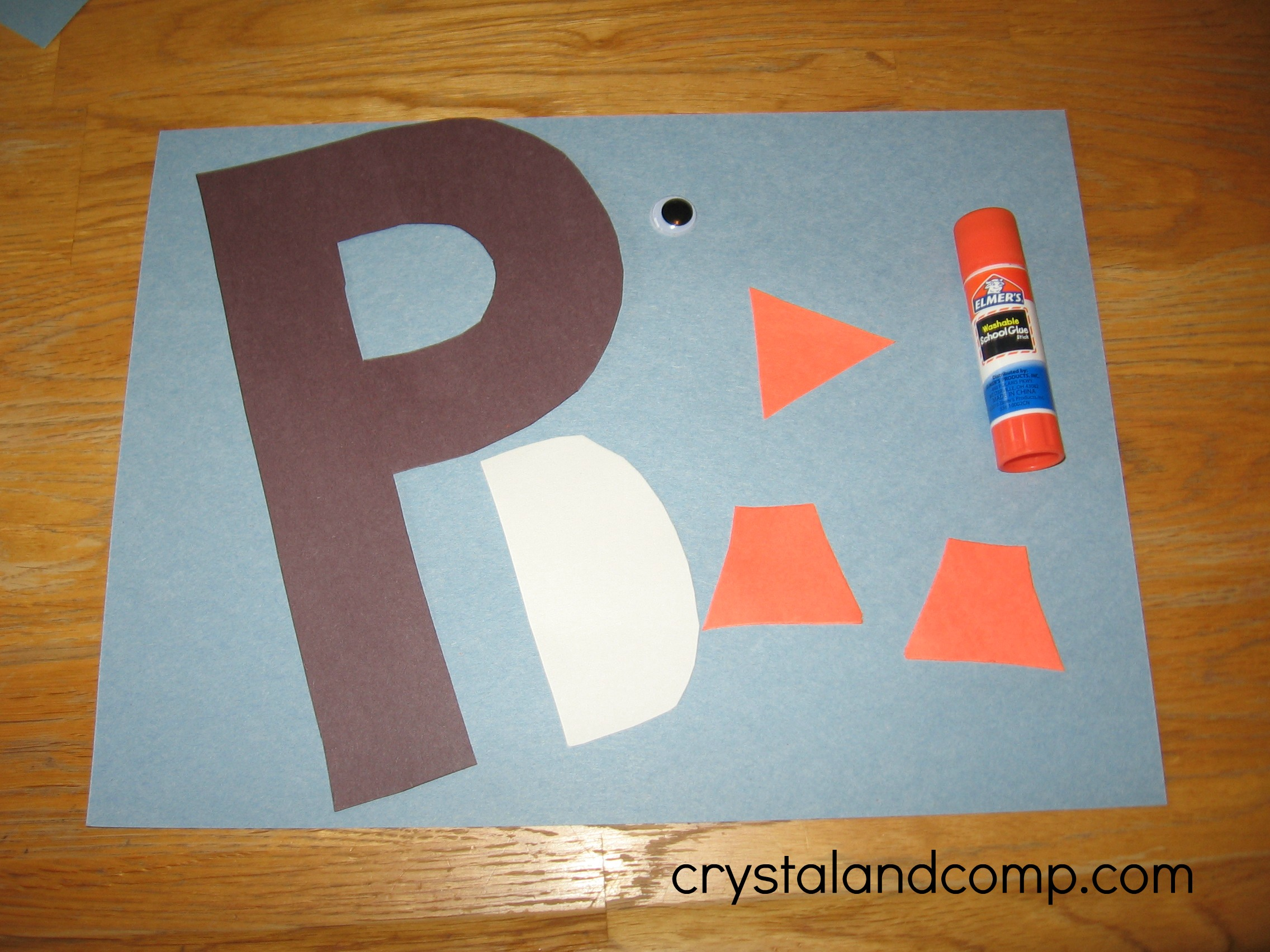 P Is For Penguin Letter Of The Week Crafts