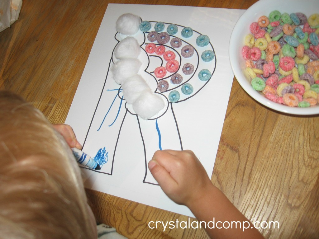 R Is For Rainbow A Letter Of The Week Preschool Craft