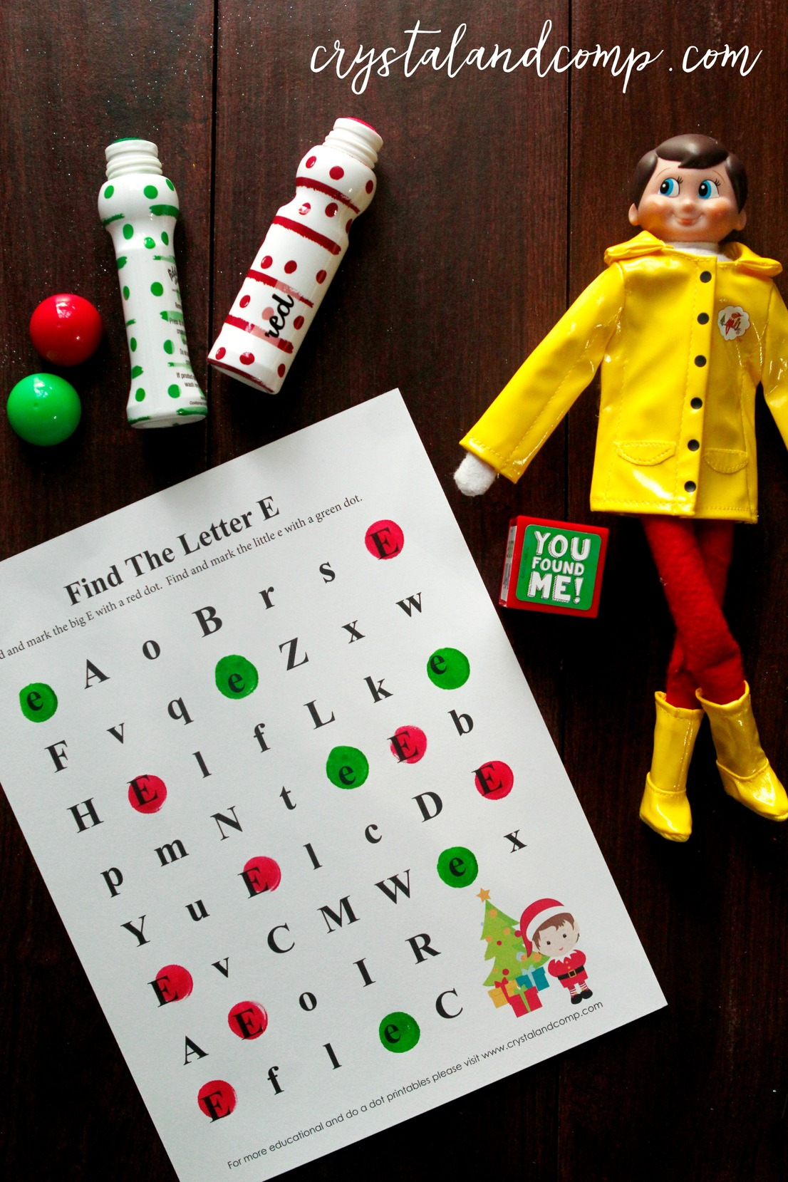Elf On The Shelf Do A Dot Printables