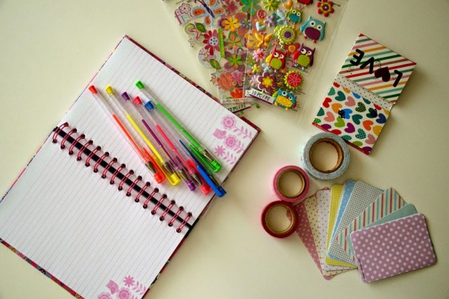 stickers, gel pens, planner, washitape,planner decoration