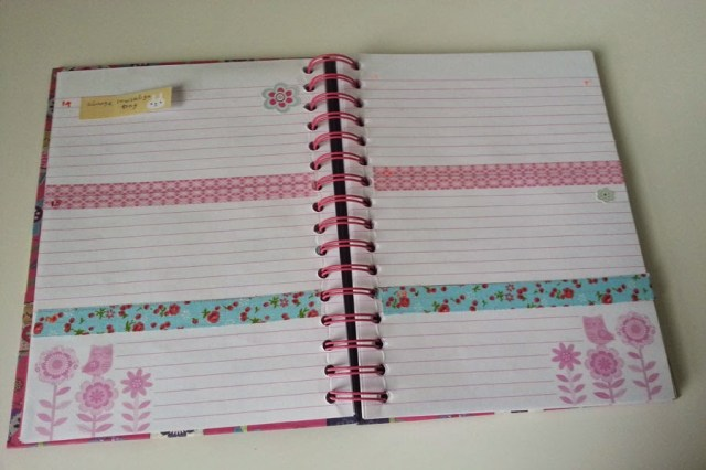 weekly planner, DIY planner,planner decoration
