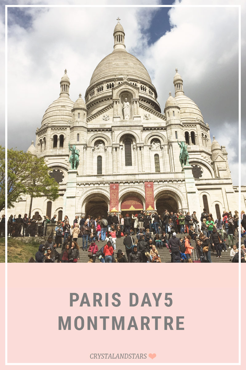 PARIS DAY 5 – MONTMARTRE