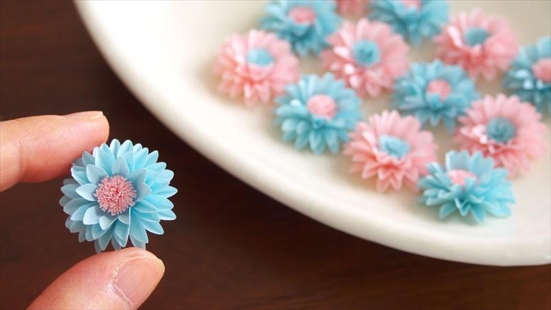 クラフトパンチで作る可愛い小花の作り方