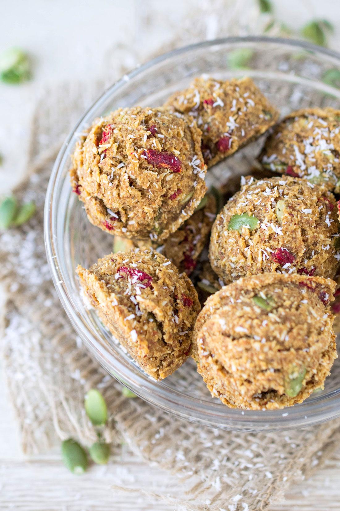 Pumpkin Spice Almond Cookies