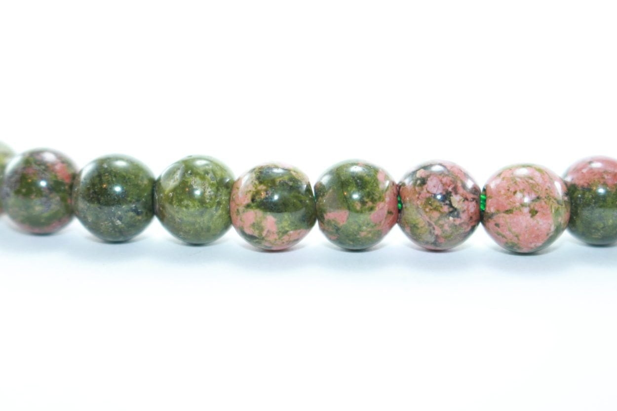 gemstone beautiful natural naturaluntreated unakite untreated auctions ct