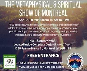 Crystal Dreams Metaphysical & Spiritual Show of Montreal