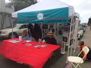 Fog Fest Photo Contest Booth
