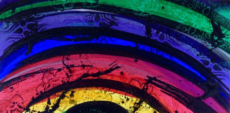 Pre Occular Rainbow