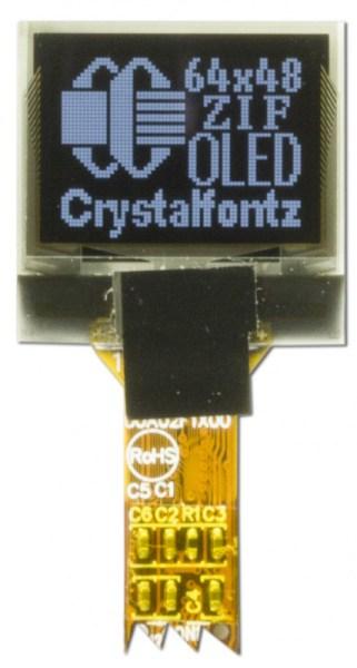 Crystalfontz 64x48 OLED Module