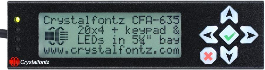 CFA635-Enclosed LCD Module