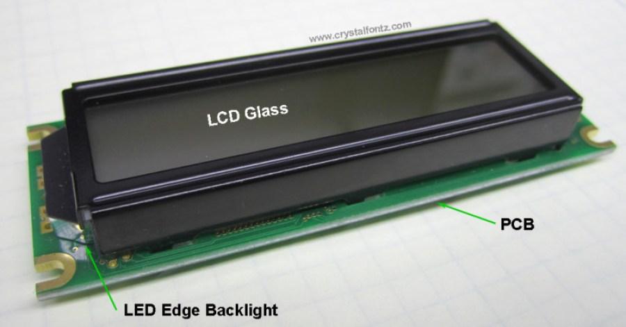 COB Construction LCD Module - www.crystalfontz.com