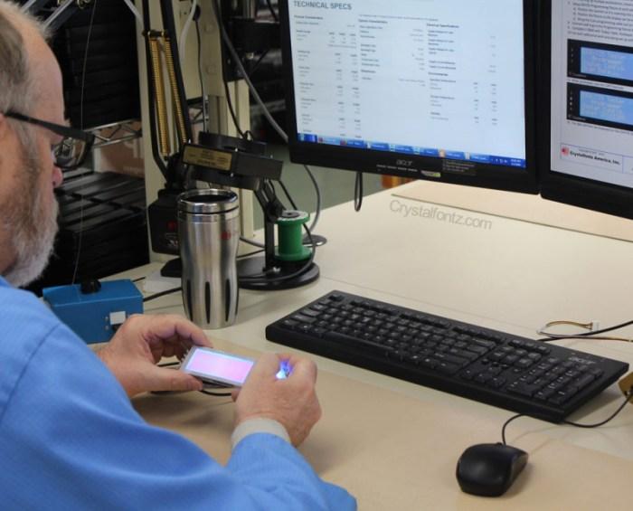 Crystalfontz Production Line - tech specs