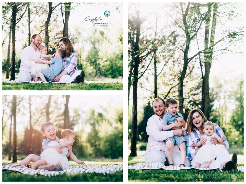 Crystal Freemon Photography Hadleys Cake Smash And Family Portrait Session