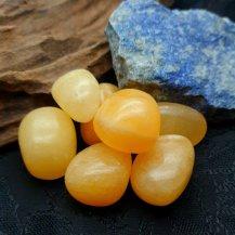 Trumlad orange kalcit