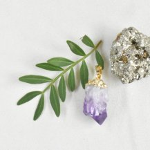 Hänge ametist kristall 2
