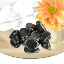 Trumlad svart onyx