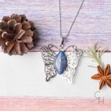 Halsband fjäril lapis
