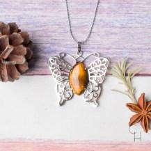 Halsband fjäril tigeröga