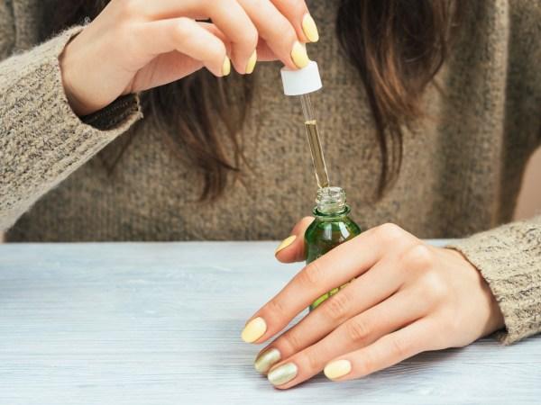 cuticle treatment oil