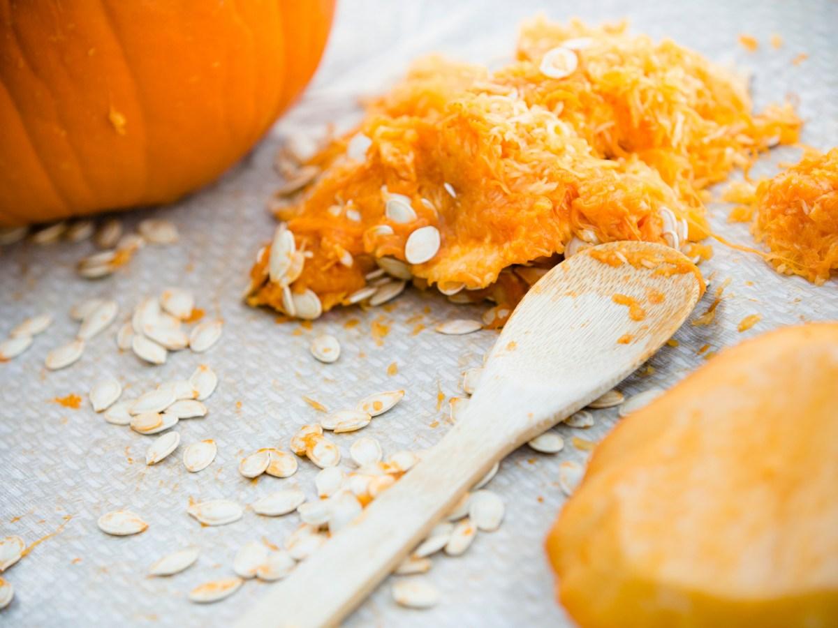 Pumpkin scrub