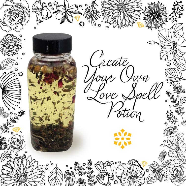 Love Spell Potion - Crystal Hills Organics