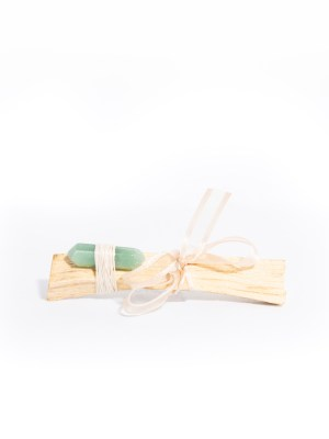 Palo Santo with Green Aventurine