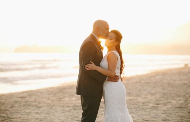 Vintage beach wedding in Carpenteria