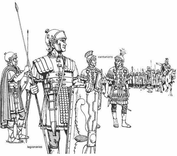 Easy Roman Gladiator Drawing