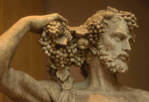 Bilderesultat for dionysus greek god of wine