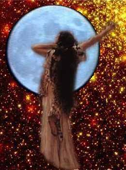 She Is The Lunar Goddess Of The Temple