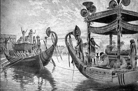 Resultado de imagem para egypt cleopatra ships