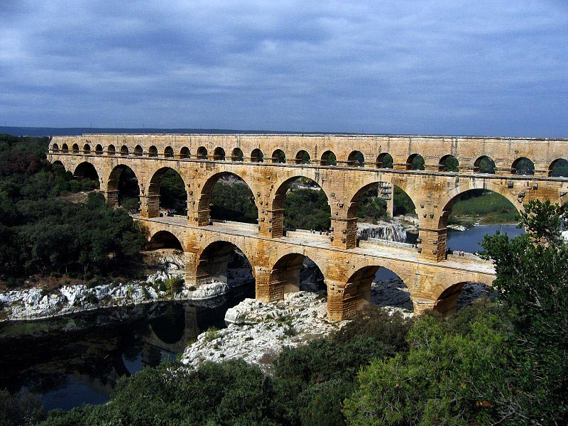 Image result for ancient aqueducts